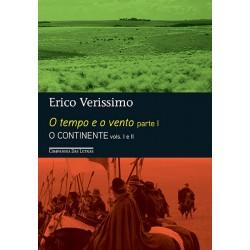 O Tempo e o Vento – Parte 1 (Edição Econômica) – O Continente Vol. 1 e 2 – Érico Verissimo - Livraria Taverna