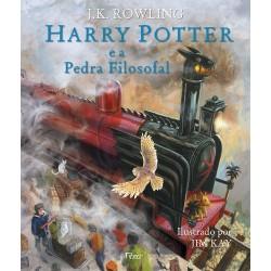 Harry Potter e a Pedra Filosofal – Edição Ilustrada – J. K. Rowling